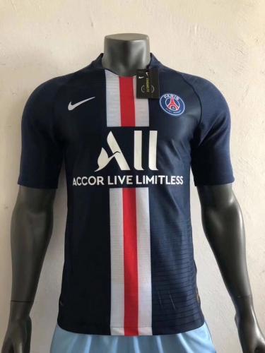2019 2020 PSG Paris Saint-Germain 19 20 Home player version Football Soccer Jersey