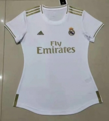19 20 Real madrid home female Women Home Soccer Jersey 2019-2020 Football shirts