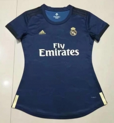 19 20 Real madrid away female Women Soccer Jersey 2019-2020 Football shirts