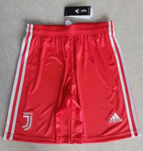 2019 2020 Juventus away red Soccer shorts pants