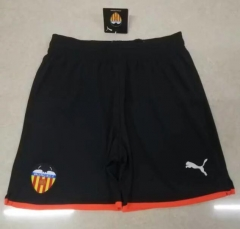 2019 2020 Valencia CF Black 19 20 Soccer shorts pants