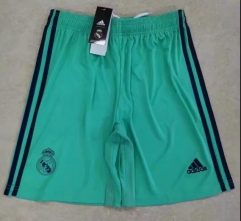 2019 2020 Real madrid third green 19 20 Soccer shorts pants