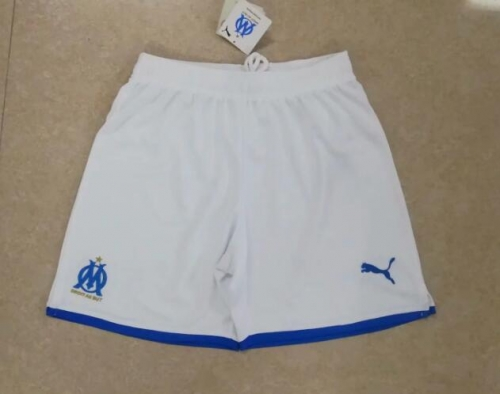 2019 2020 Marseille white 19 20 Soccer shorts pants