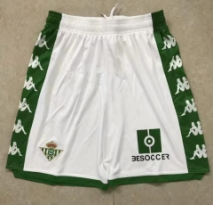 2019 2020 Real Betis white 19 20 Soccer shorts pants