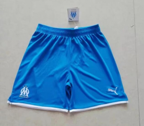2019 2020 Marseille Blue 19 20 Soccer shorts pants