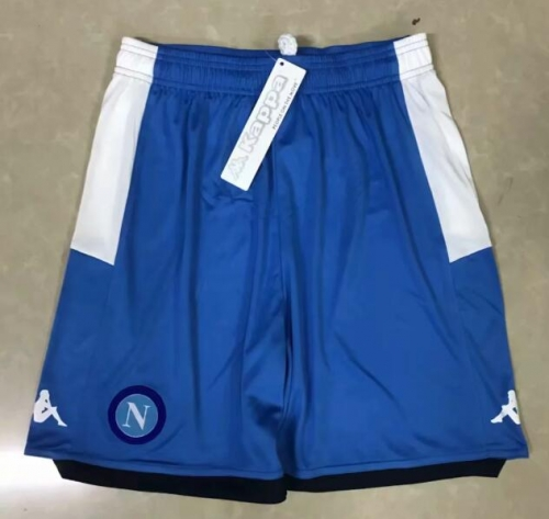 2019 2020 napoli Naples Blue 19 20 Soccer shorts pants