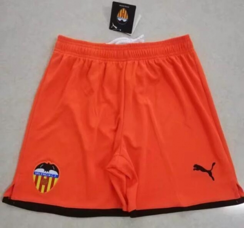 2019 2020 Valencia CF Orange 19 20 Soccer shorts pants