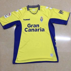 2019 2020 Unión Deportiva Las Palmas Home yellow 19 20 Soccer Jersey Football shirts