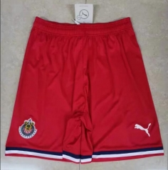 2019 2020 Guadalajara Chivas red 19 20 Soccer shorts Football Pants