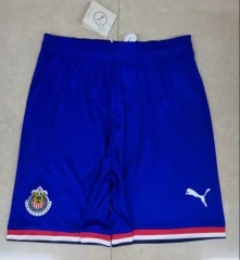 2019 2020 Guadalajara Chivas Blue 19 20 Soccer shorts Football Pants
