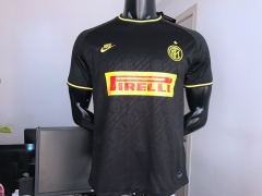 2019 2020 Inter Milan Third Black Soccer Jersey 19 20 Football shirts