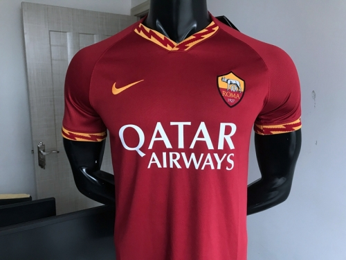 2019 2020 Roma ROME home  Soccer Jersey 19 20 Football shirts
