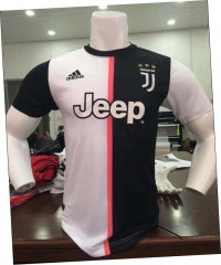 2019 2020 Juventus home Player version Soccer Jersey 19 20 Football shirts