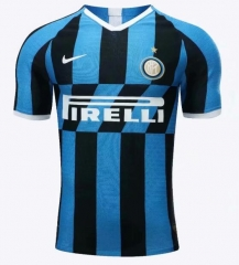2019 2020 Inter Milan home  Player version Soccer Jersey 19 20 Football shirts