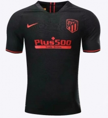 2019 2020 Atletico Madrid away black Player version Soccer Jersey 19 20 Football shirts