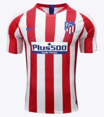 2019 2020 Atletico Madrid Home Player version Soccer Jersey 19 20 Football shirts