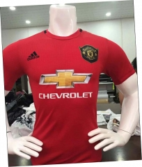 2019 2020 Manchester United home Player version Soccer Jersey 19 20 Football shirts