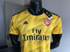 2019 2020 Arsenal away yellow Soccer Jersey 19 20 Football shirts