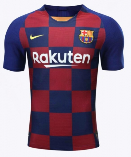 2019 2020 Barcelona home player verison  Soccer Jersey 19 20 Football shirts