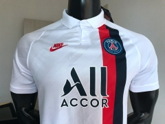 2019 2020 Paris Saint-Germain third white psg soccer jersey football shirts
