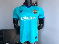 2019 2020 Barcelona third blue soccer jersey football shirts