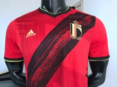 2020 European Cup Belgium home Soccer jersey football shirts