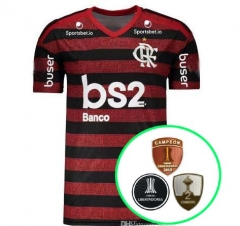 19-20 Flamengo home soccer jersey Championship version