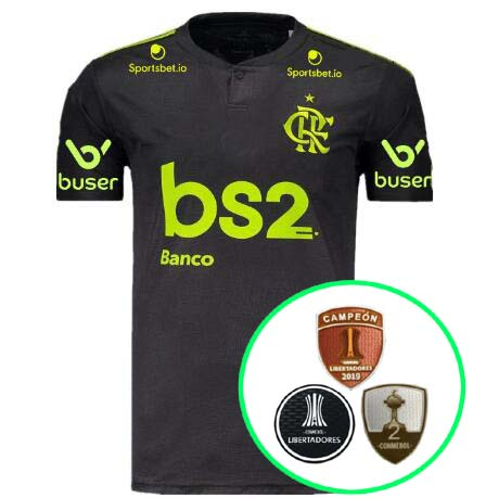 19-20 Flamengo Third soccer jersey Championship version