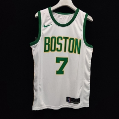 2019 Boston Celtics Jaylen Brown 7 Adult Fan Edition NBA Basketball Jersey