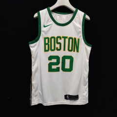 2019 Boston Celtics Gordon Hayward 20 Adult Fan Edition NBA Basketball Jersey