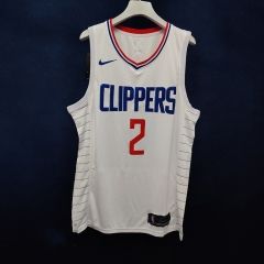 2019 Los Angeles Clippers Shai Gilgeous-Alexander 2 Adult Fan Edition NBA Basketball Jersey