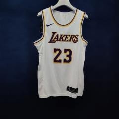 2019 Los Angeles Lakers LeBron James 23 Adult Fan Edition NBA Basketball Jersey
