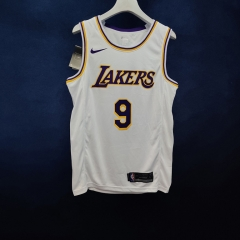 2019 Los Angeles Lakers Rajon Rondo 9 Adult Fan Edition NBA Basketball Jersey