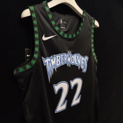 2019 Minnesota Timberwolves Andrew Wiggins 22 Adult Fan Edition NBA Basketball Jersey