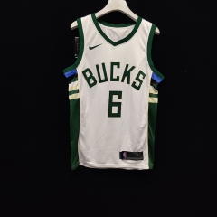 2019 Milwaukee Bucks Eric Bledsoe 6 Adult Fan Edition NBA Basketball Jersey
