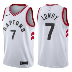 2019 Toronto Raptors Kyle Lowry 7 Adult Fan Edition NBA Basketball Jersey