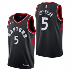 2019 Toronto Raptors Rondae Hollis-Jefferson 5 Adult Fan Edition NBA Basketball Jersey