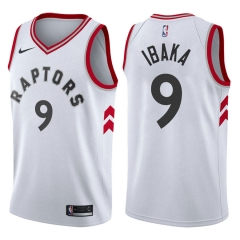 2019 Toronto Raptors Serge Ibaka 9 Adult Fan Edition NBA Basketball Jersey