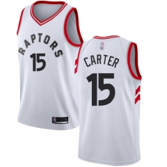 2019 Toronto Raptors Vince Carter 15 Adult Fan Edition NBA Basketball Jersey
