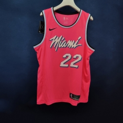 2019 Miami Heat James Jones 22 Adult Fan Edition NBA Basketball Jersey