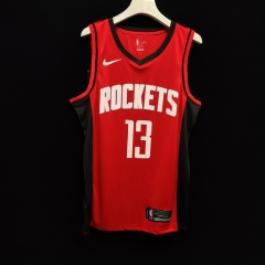 2019 Houston Rockets James Harden 13 Adult Fan Edition NBA Basketball Jersey