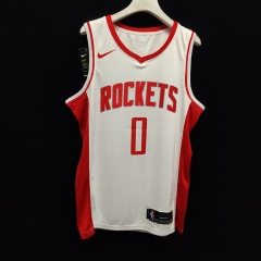 2019 Houston Rockets Russell Westbrook 0 Adult Fan Edition NBA Basketball Jersey