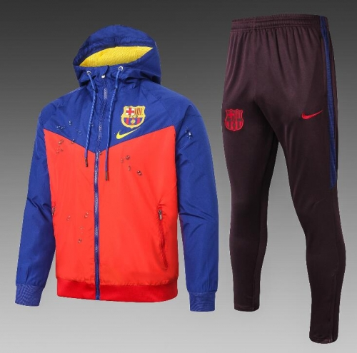 19 20 Barcelona Jacket windbreaker jacket jacket training suit football jersey