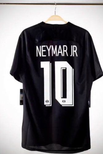 2019 2020 PSG  NEYMAR JR #10 Soccer Jersey   JORDAN Paris saint-germain fourth Player version