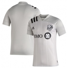 Men's Montreal Impact  Gray 2020 Soccer Jersey