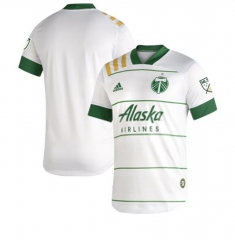 Men's Portland Timbers Away White 2020 soccer Jersey
