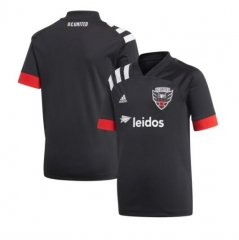 Men's D.C. United Black home 2020 Primary Replica Blank Soccer Jersey