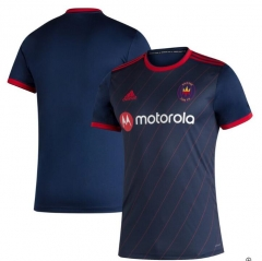 Men's Chicago Fire Navy 2020 Home Soccer Jersey
