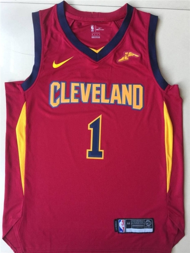 2019 Cleveland Cavaliers Rodney Hood 1 Adult Fan Edition NBA Basketball Jersey