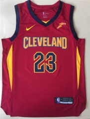 2019 Cleveland Cavaliers LeBron James 23 Adult Fan Edition NBA Basketball Jersey